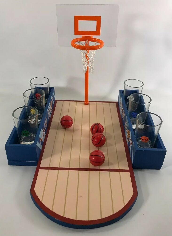 Elements Basketball Shot Game A Social Drinking Game New In Box Ebay Drinking Games Shots Games Game Sales