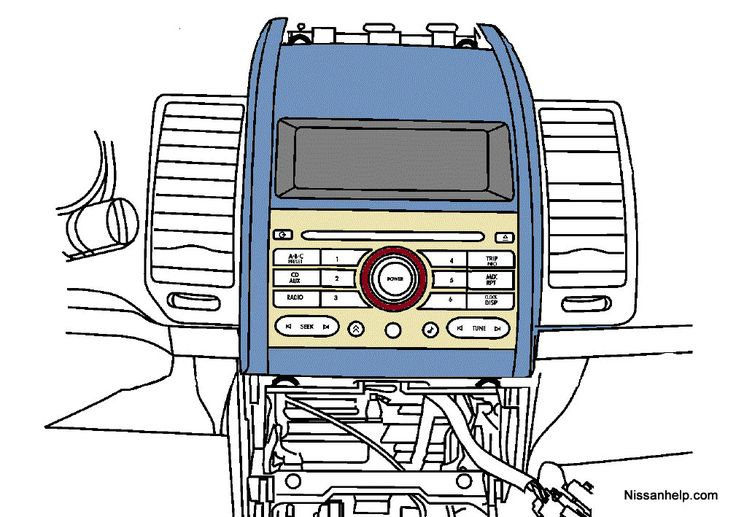 Nissan Stereo Wiring Diagram in 2020 | Nissan maxima ...