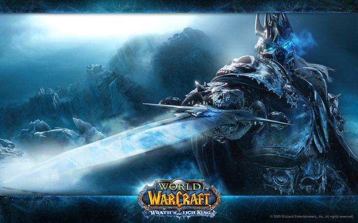 World of Warcraft Wrath of Lich King wallpaper.