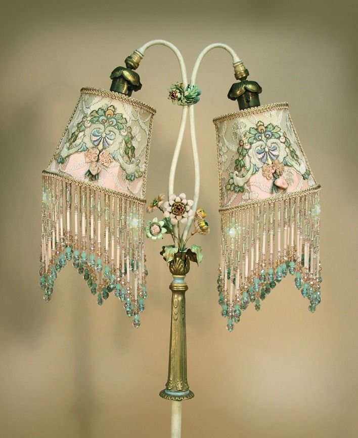 Best 100 Victorian Lampshades Images On Pinterest