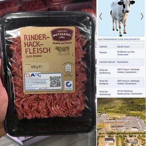 """Beste Qualität, engmaschige Kontrollen, alles nachvollziehbar? Fleisch wird in Deutschland immer billiger, doch die Anbieter versprechen, dass dennoch alles super ist. Viele Marken heißen, als wären sie noch kleine Familienbetriebe. Bei Rewe kommt das Fleisch von """"Wilhelm Brandenburg"""", bei Penny beliefert der """"Mühlenhof"""" und bei Aldi ist es """"Meine Metzgerei"""". . . Aldis """"Transparenz"""" reicht …"""