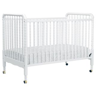 @Overstock.com.com - DaVinci Jenny Lind 3-in-1 Convertible Crib in White - The Jenny crib is just right for you and your baby.  It was designed with safety and convenience in mind.  http://www.overstock.com/Home-Garden/DaVinci-Jenny-Lind-3-in-1-Convertible-Crib-in-White/4656857/product.html?CID=214117 Add to cart to see special price
