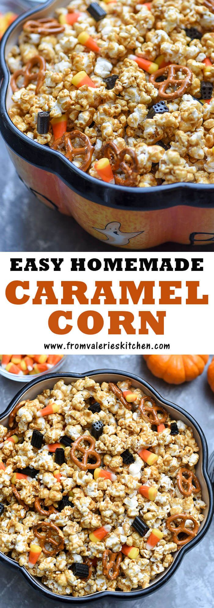 It is fun and easy to make crunchy, sweet Caramel Corn at home. Watch the video tutorial and get the no-fail recipe for this festive treat!