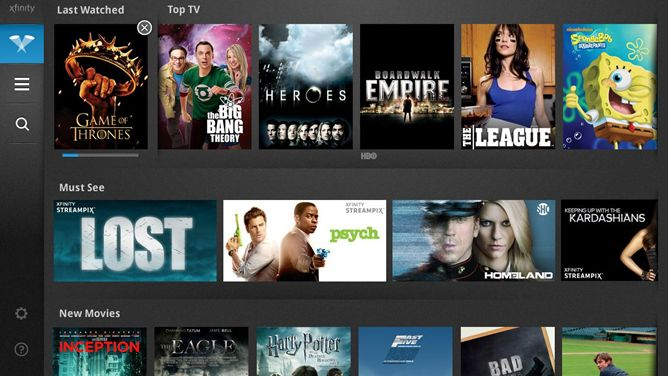 """XFINITY TV Player App Updated To Support The Nexus 7, Promises A 7"""" UI Soon Enough"""