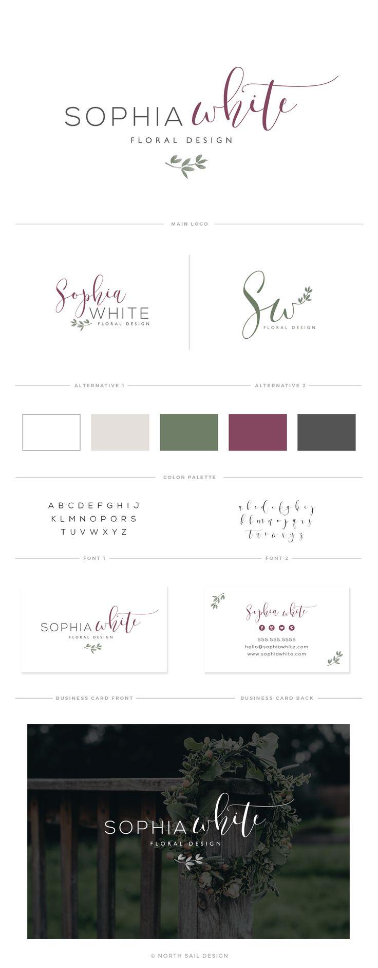 Sophia White | North Sail Design Premade Logo and Brand