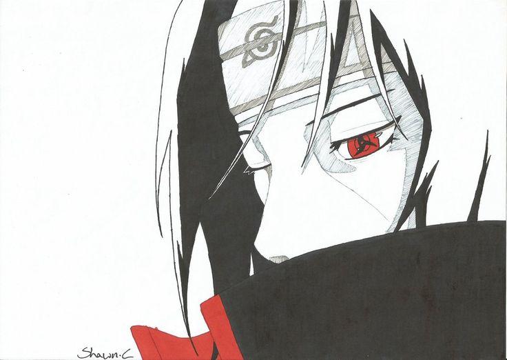 Naruto - Itachi by ShinsArt on DeviantArt