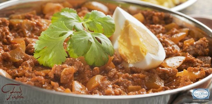 Kheema - You can savour this multi-cultural delicacy in Punjab, Kashmir & Maharashtra among many other places.