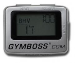 The GYMBOSS is a small, easy to use, repeating interval timer. This multi-use timer has many versatile functions that make it beneficial to virtually any type of exercise program.