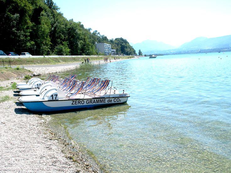 La plage du Rowing située à Aix-les-Bains est classée en ZNIEFF type II et fait partie de l'ensemble fonctionnel formé par le Lac du Bourget qui constitue un ensemble exceptionnel sur le plan biologique. Il est par ailleurs décrit comme présentant «un grand intérêt paysager (il est cité comme exceptionnel dans l'inventaire régional des paysages)».  Ménard Paysage & Urbanisme : Maîtrise d'oeuvre complète