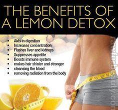 All natural DoTerra lemon oil detox