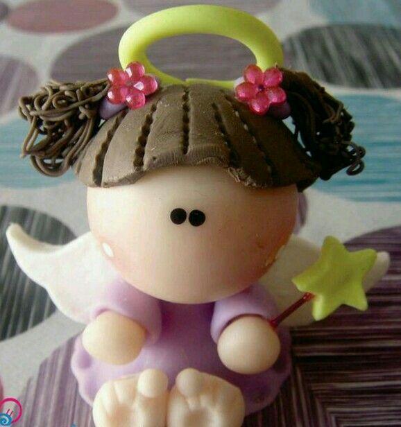 Angelita con estrella