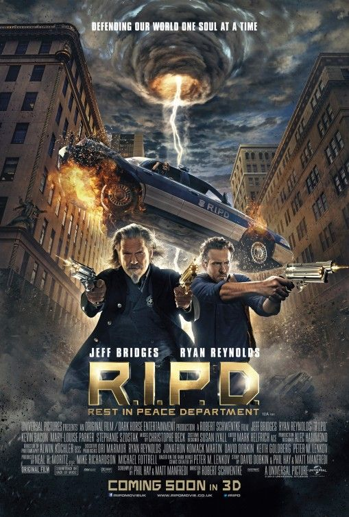 R.I.P.D. - This film did horrible at the box office and had crap ass reviews, but I liked it. But, I will say that all the dead people looked way too video game graphics. Not real enough.
