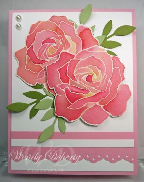 Картинки, цветы розы на открытку своими руками