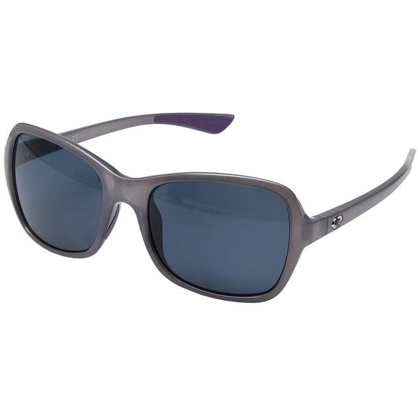 Costa Kare (Shiny Sea Lavender Crystal Frame/Gray 580P) Sport... (10.080 RUB) ❤ liked on Polyvore featuring accessories, eyewear, sunglasses, costa glasses, sports glasses, sports sunglasses, scratch resistant sunglasses and mirrored lens sunglasses
