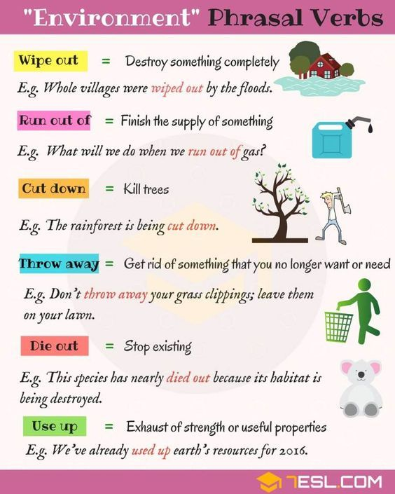 Simple Methods to Study Phrasal Verbs in English