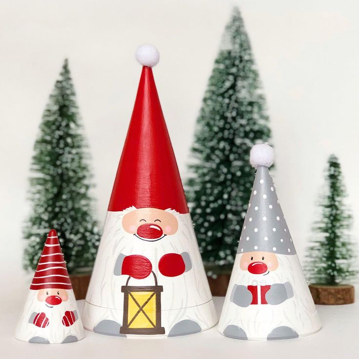 Set of gnomes nesting doll by tooys on Etsy