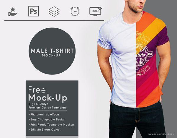 Download 51 Awesome Free T Shirt Mock Ups Psd Mens Tshirts T Shirt Tshirt Mockup