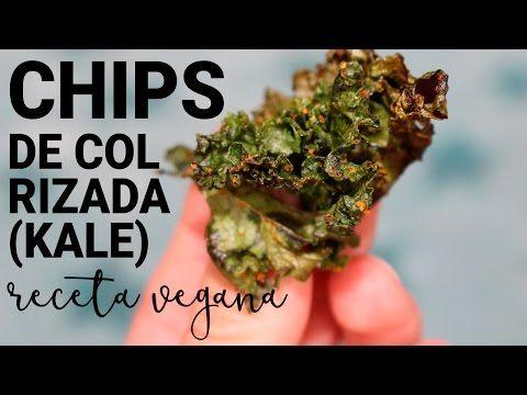 Cómo hacer chips de Kale o Berza Receta explicada aquí: http://recetasveggie.com/chips-de-kale-berza/ Botana super sencilla y sana :)