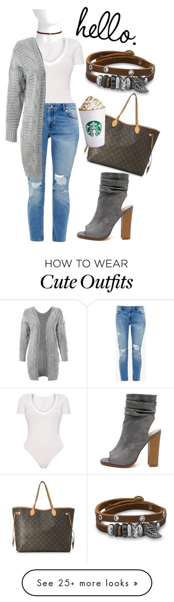 """Cute Winter Fashion Outfit"" by frances-mcgee on Polyvore featuring Ted Baker, Nashelle, Sans Souci, Liliana, BillyTheTree and Louis Vuitton"
