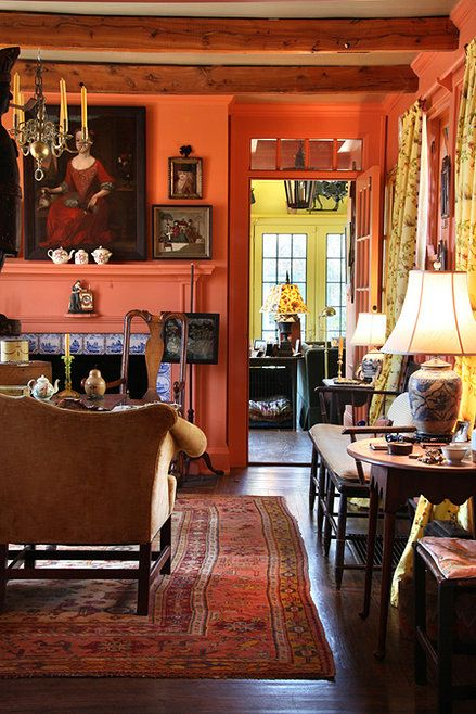 390 Best Pink Living Rooms Images On Pinterest Pink Living Rooms Living Room And Living Spaces
