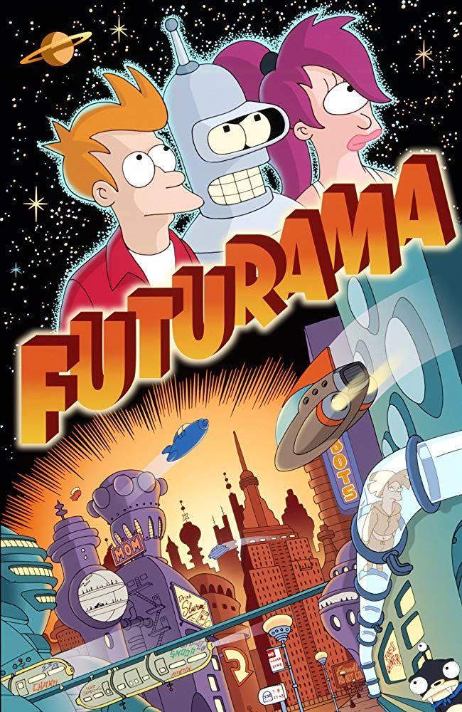 Katey Sagal, John DiMaggio, and Billy West in Futurama