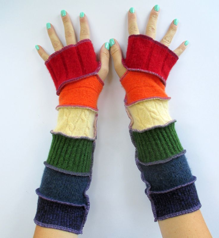Will you marry me - rainbow gloves - rainbow pride fingerless gloves - I will, Me too - handmade gloves - unique marriage proposal