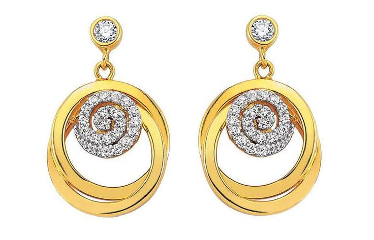 I put together beautiful gold earrings for women. You can get ideas from the following photos.
