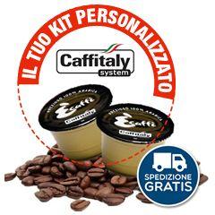 100 CAPSULE ORIGINALI CAFFITALY A SCELTA