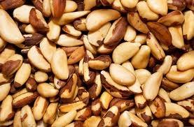 Castanha-do-Pará | Castanha-do-Brasil | Tocari | Tururi  É um fruto com alto teor calórico e protéico,  além disso contém o elemento selênio  que combate os radicais livres e muitos estudos  o recomendam para a prevenção do câncer (cancro).