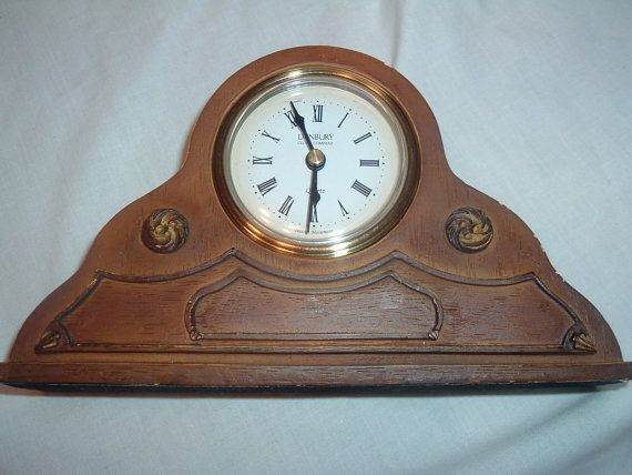 vintage Danbury small mantel clock by handymanhowto on Etsy, $24.95  20% off Use code 202012 @ checkout