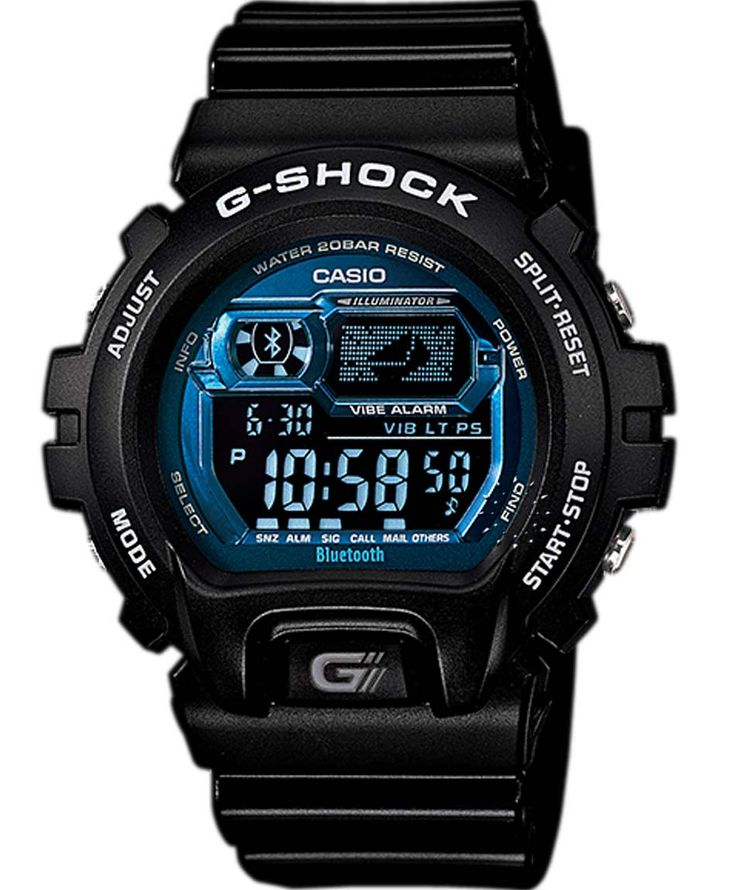 CASIO G-Shock Digital Bluetooth Limited Edition Rubber Strap Τιμή: 199€ http://www.oroloi.gr/product_info.php?products_id=36872