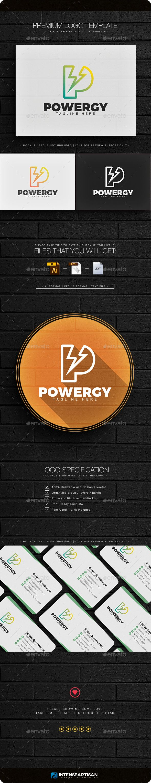 Powergy  Letter P Logo — Vector EPS #print #Apps logo • Available here → https://graphicriver.net/item/powergy-letter-p-logo/14977843?ref=pxcr