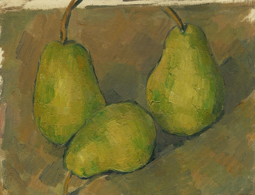 Three Pears / Paul Cezanne / 1878/79 / NGA