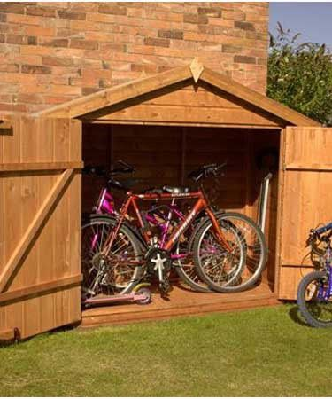 17 best images about project ideas bike storage on for Shed project
