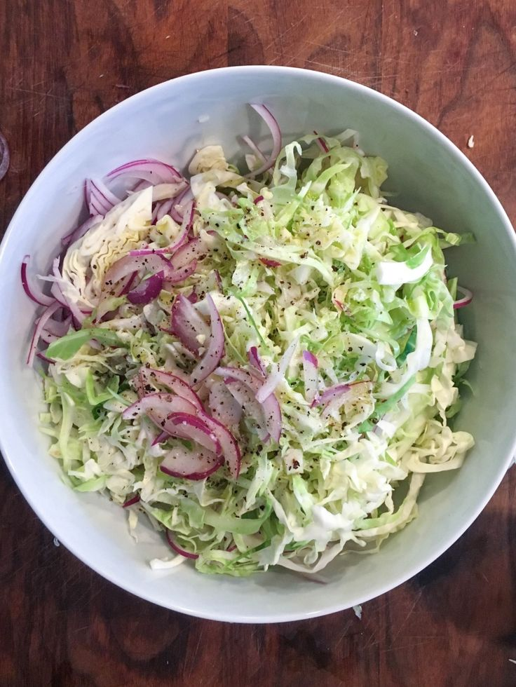 Simple Coleslaw Recipe from Alice Waters | Umami Girl