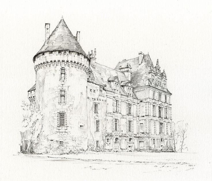 Lanquais, Dordogne, France by Linda Vanysacker