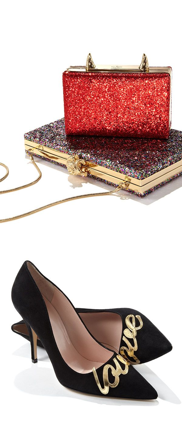 Plans for the weekend? Take Kate Spade New York out on the town & shine through the night.