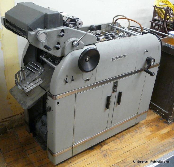 18 best printing press multi 1250 images on pinterest printing the multilith 1250 offset printing press this looks just like the one i used in my high school graphic arts class circa which we used to print out business reheart Gallery