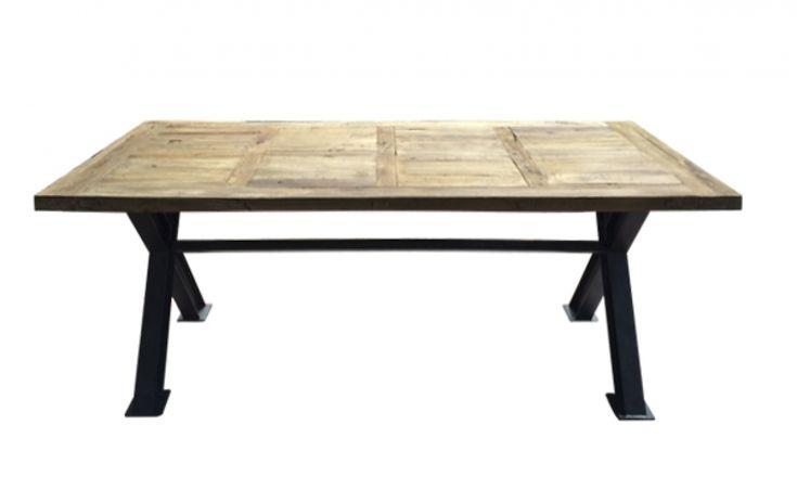 Mesa comedor cubierta madera 10 personas 78 x 240 x 100 cm -  MESAS DE COMEDOR 500 M