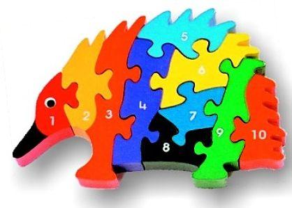 Pugpgle Post Echidna Puzzle