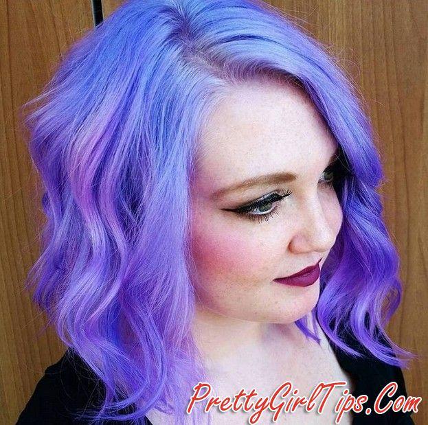 @prettygirltips pastel purple hairstyles - hair color ideas