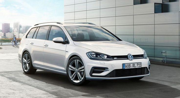 Volkswagen presenteert Golf en Golf Variant R-Line