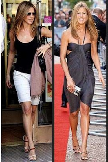 Steal Jennifer Aniston's Style: Even with Big Feet!