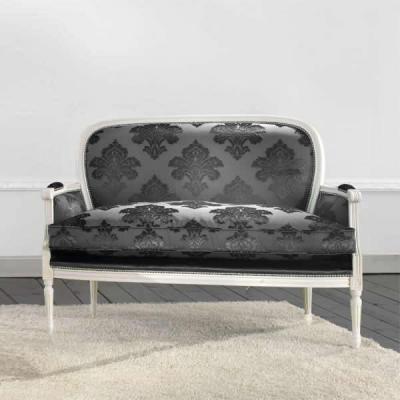 Canapele si fotolii tapitate lemn stil clasic horeca cafenea bar pub EVO_275 ieftin promotie