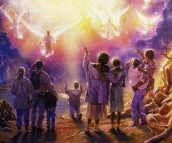 """Matthew 24:36, """"But of that day and hour knoweth no [man], no, not the angels of…"""