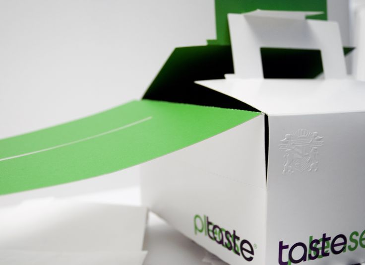 Emballage Taste Please. Frank Lantz.