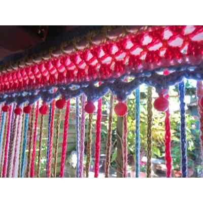 Cortinas Crochet Hasta 1.40 M X Hasta 1m - $ 400,00 en MercadoLibre