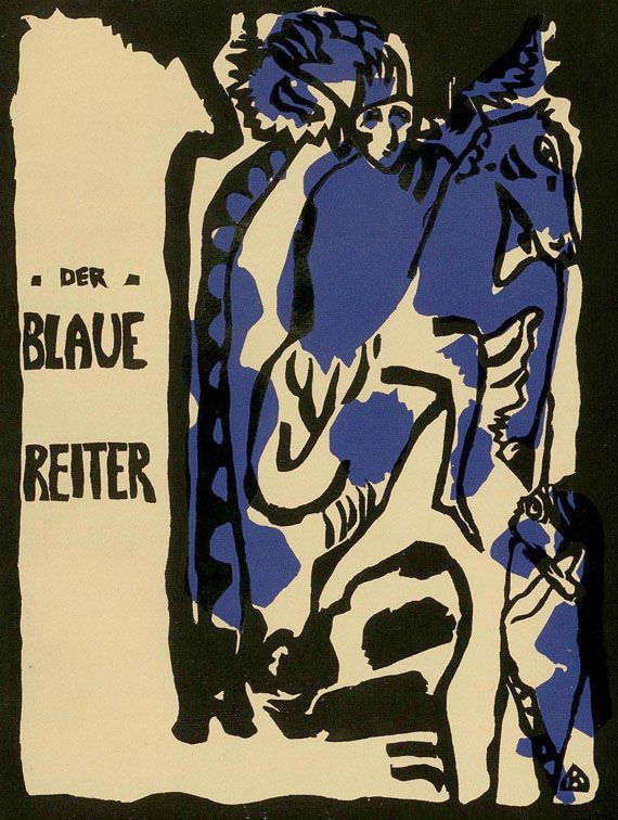 Der Blaue Reiter, 1911: Kandinsky, Franz Marc und Alfred Kubin gründeten diese Künstlergruppe zusammen mit Gabriele Münter
