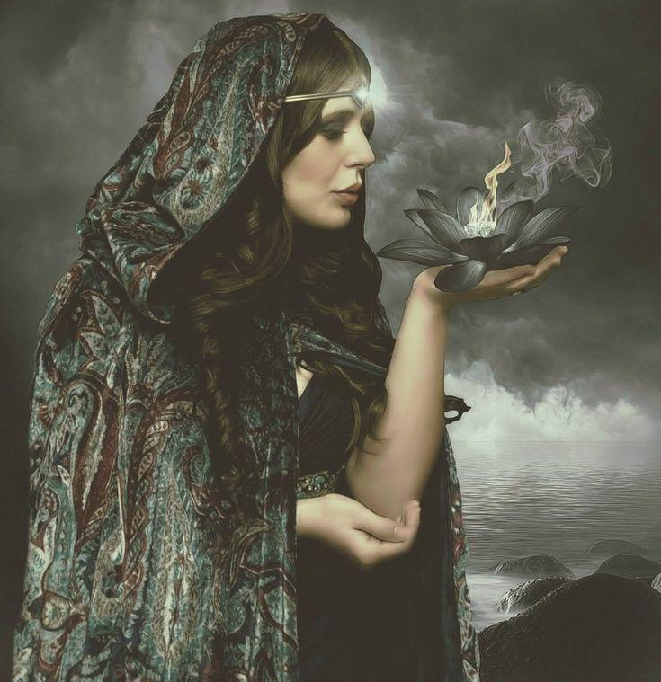 Krieger Geist von Göttin Morrigan Ermächtigung