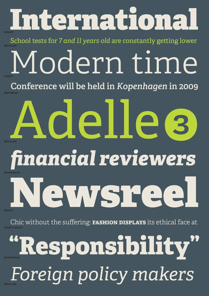 Gold Award for Adelle by TypeTogether (2010)